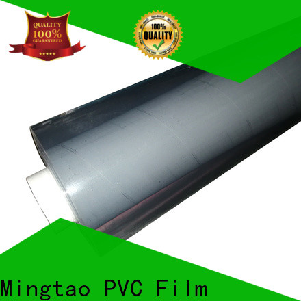 Mingtao Breathable pvc film suppliers free sample for table mat