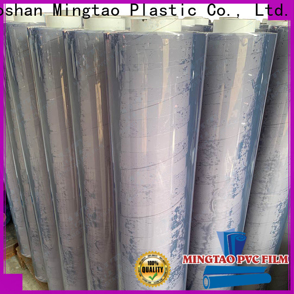 Mingtao on-sale plastic film supplier for table mat