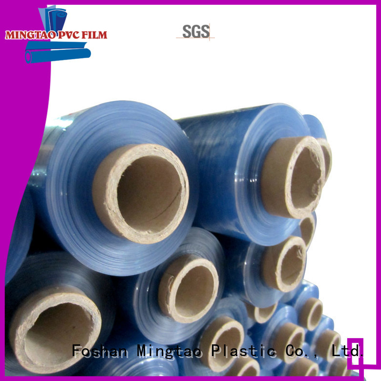 Mingtao blue PVC packaging film for furniture