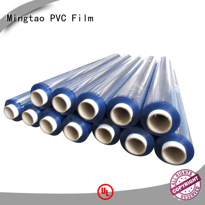 Mingtao solid mesh clear pvc film customization for television cove