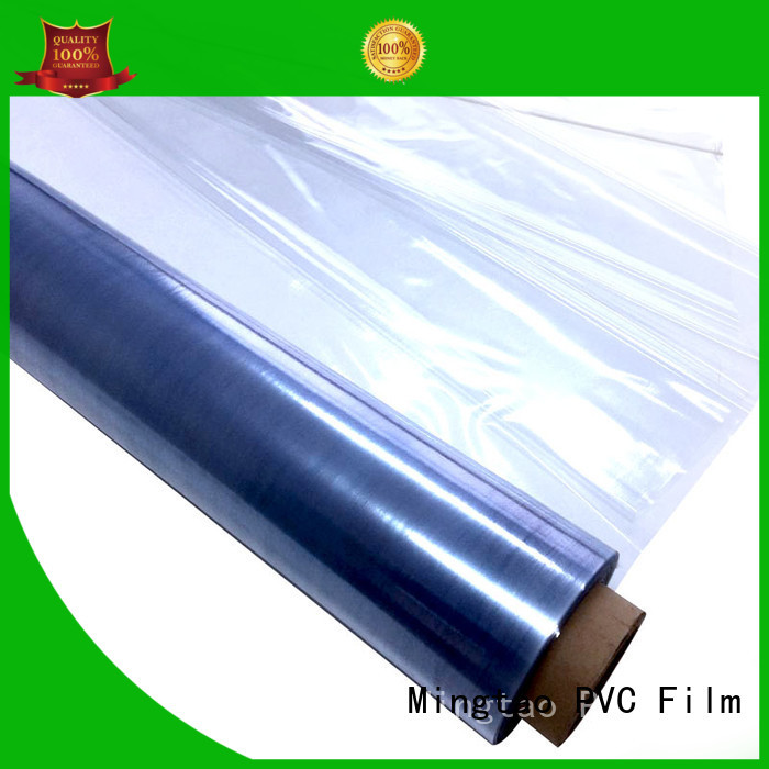 Mingtao latest manufacturer of pvc film bulk production for table mat