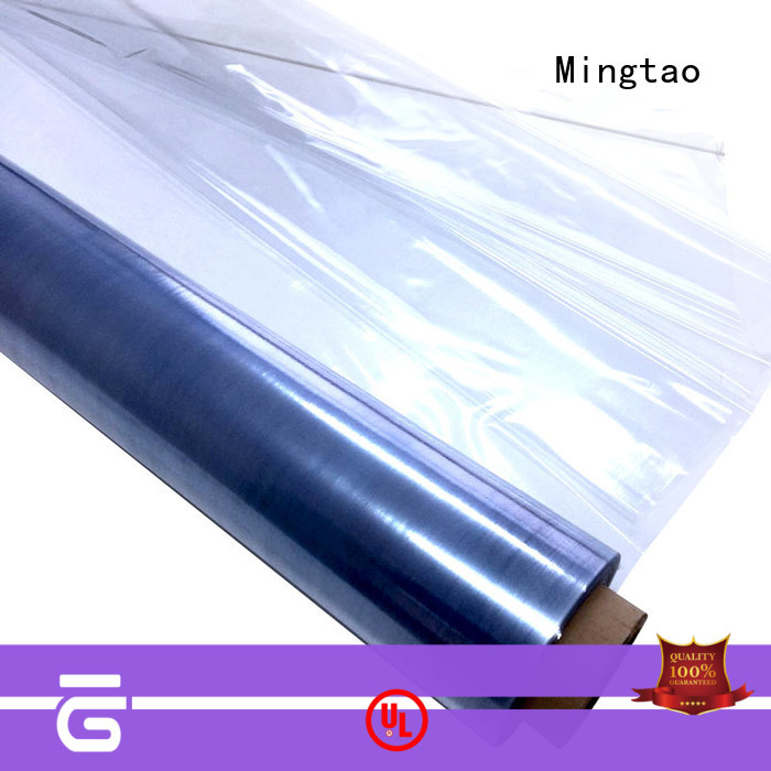 Mingtao high-quality film pvc roll customization for television cove