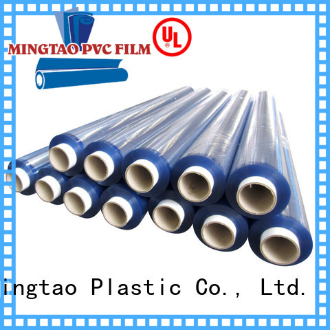 Mingtao waterproof soft pvc film vinyl sheet material suppliers get quote for book covers