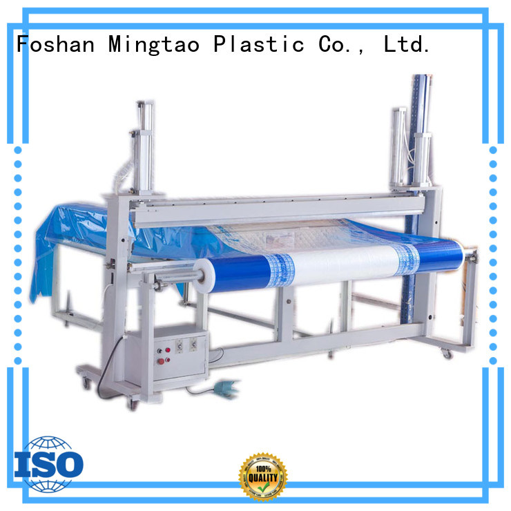 Mingtao blue packing film customization for table mat