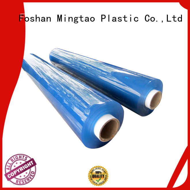 Mingtao soft clear pvc film for wholesale for packing