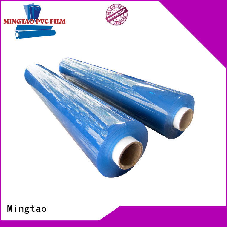 pvc clear film super clear for table cover Mingtao