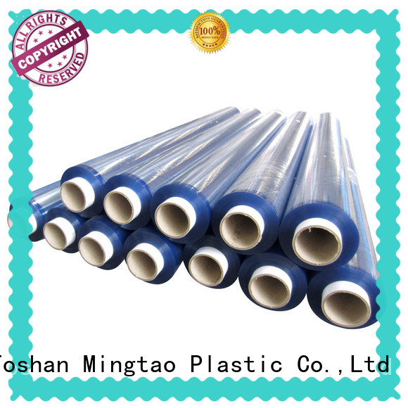 latest clear plastic film smooth surface ODM for table mat