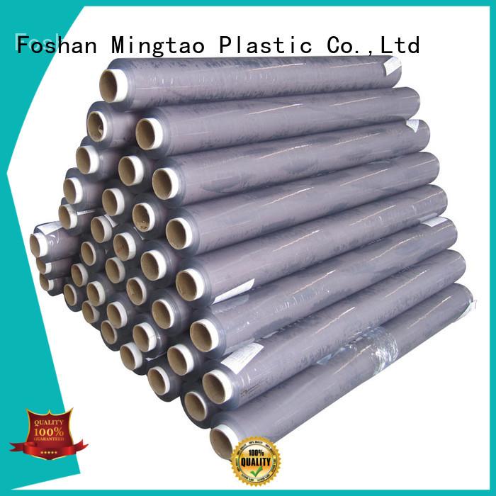Mingtao solid mesh clear pvc film plastic sheet rolls clear* pvc transparent sheet pvc for packing