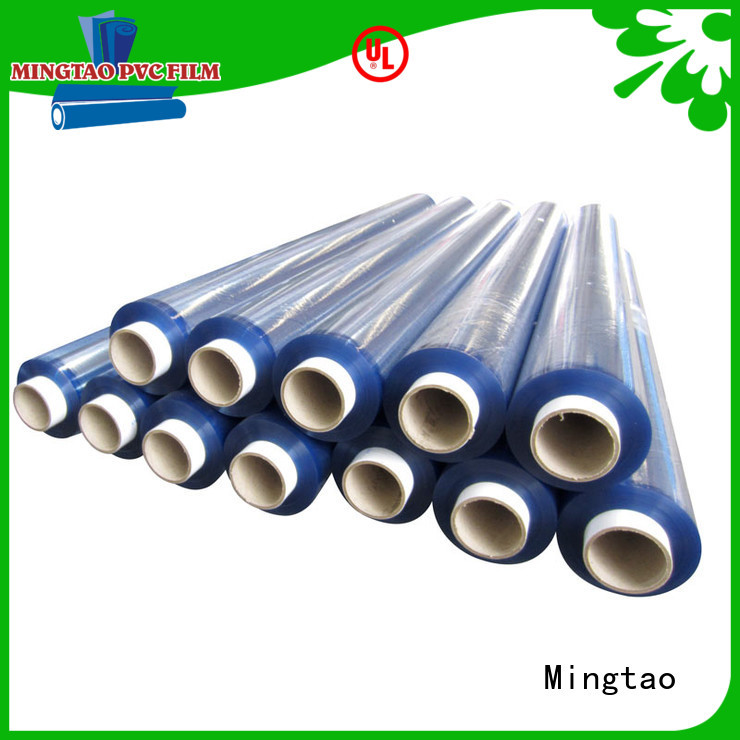 Mingtao waterproof rigid pvc sheet buy now for table cover