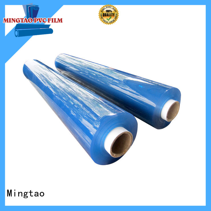 Mingtao transparent thick pvc sheet customization for television cove