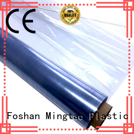 Mingtao high-quality pvc clear film High quality PVC for television cove