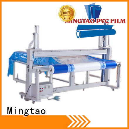 Oilproof clear film waterproof PVC mattress covering printed film