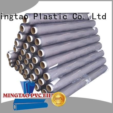 Mingtao vinyl cheap pvc sheets bulk production for book covers