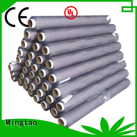 Mingtao transparent clear pvc sheet customization for table mat
