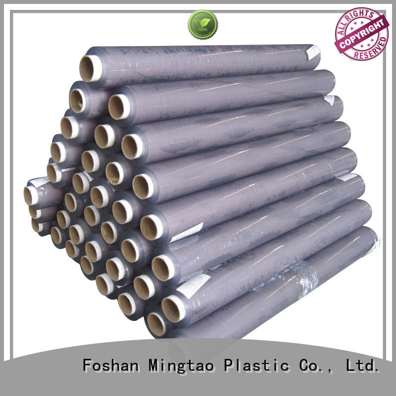 Mingtao solid mesh pvc film get quote for table cover