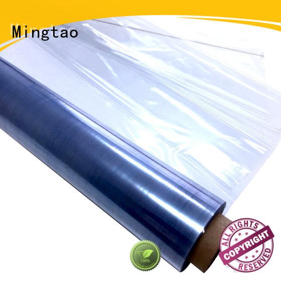 Mingtao durable pvc roll sheet customization for table mat