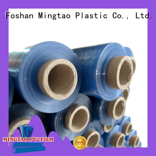 Mingtao latest furniture packing wrap pvc furniture film OEM for table cover