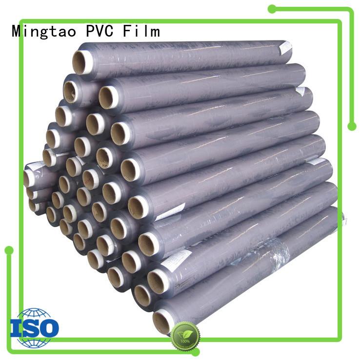 Mingtao blue clear pvc film plastic sheet rolls clear* pvc transparent sheet ODM for table cover