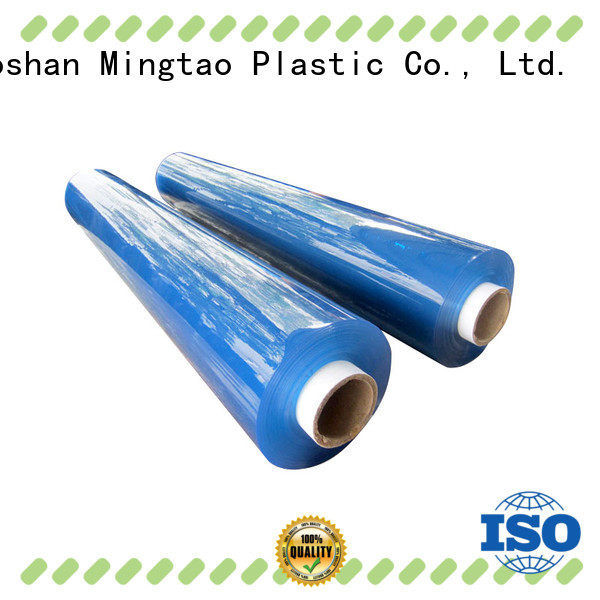 Mingtao sheet pvc clear plastic rolls customization for television cove