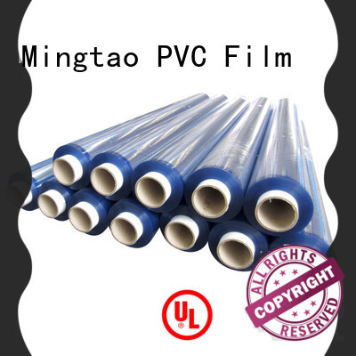 Mingtao non-sticky soft pvc sheet supplier for television cove