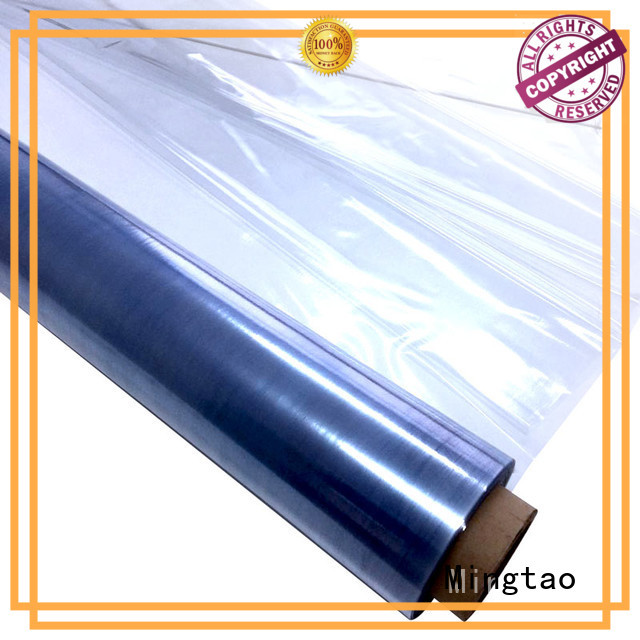 latest pvc clear plastic rolls High transparency free sample for book covers