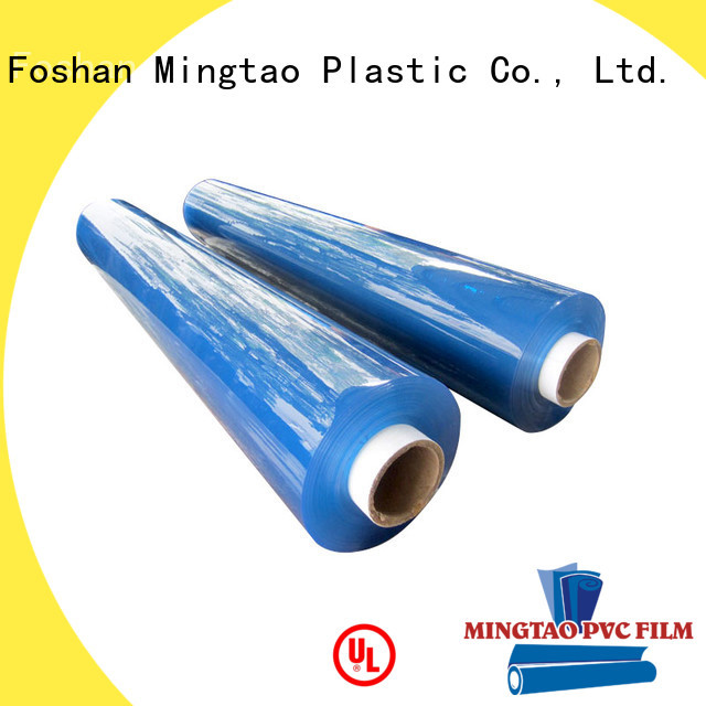 Mingtao pvc super clear pvc film supplier for table mat