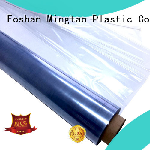 Mingtao smooth surface printed pvc film free sample for television cove