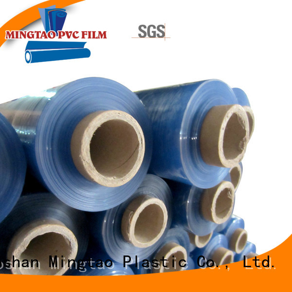 Mingtao durable plastic pvc film pvc sheet foam shrink for packing