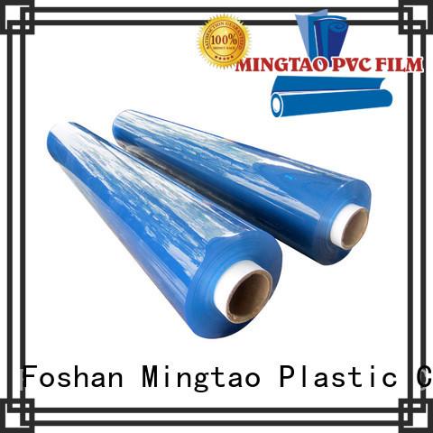 Mingtao durable flexible plastic film supplier for table cover