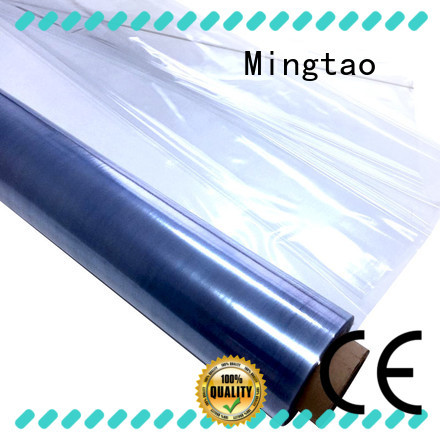 Mingtao solid mesh soft pvc film for wholesale for packing