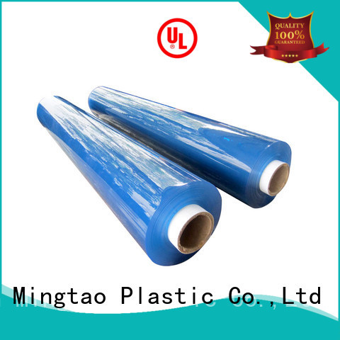 Mingtao selling clear pvc film plastic sheet rolls clear* pvc transparent sheet for wholesale for television cove