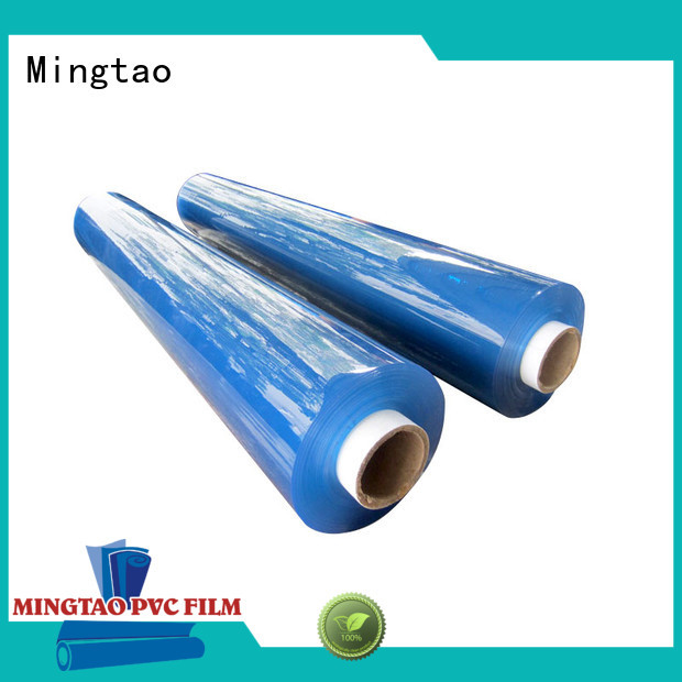 Mingtao film pvc film roll OEM for television cove