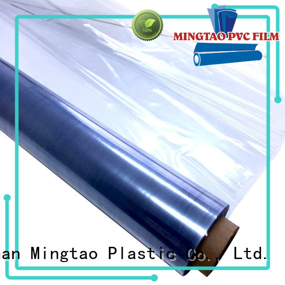 Mingtao waterproof clear pvc sheet ODM for table cover
