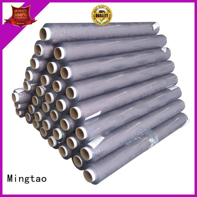 Mingtao soft vinyl plastic sheet bulk production for table mat