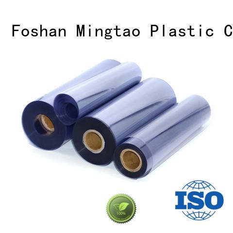 Mingtao durable clear pvc film transparent pvc film waterproof for television cove