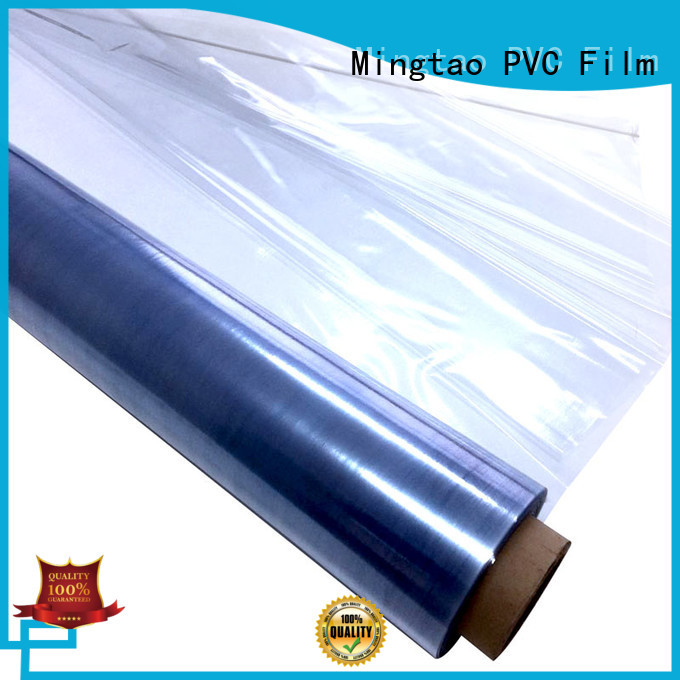at discount pvc film printing non-sticky OEM for book covers