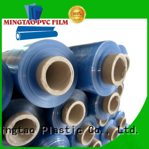 Hot blue transparent pvc shrink film packing mattress and furniture
