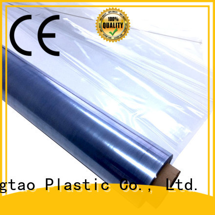 Mingtao High transparency pvc film printing customization for table cover