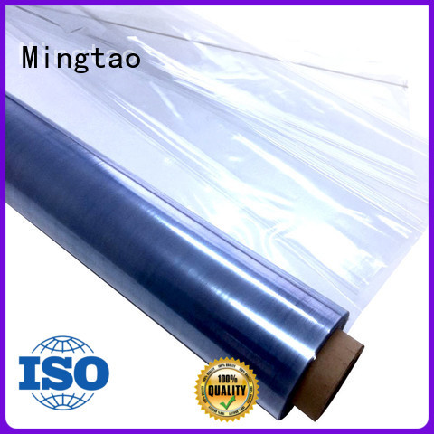 high-quality clear pvc film transparent pvc film non-sticky free sample for book covers