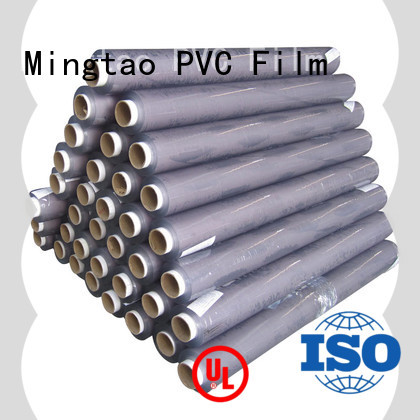 Mingtao on-sale clear pvc film bulk production for packing