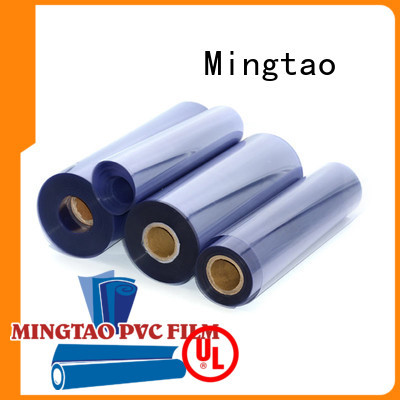 Mingtao waterproof clear vinyl film free sample for packing
