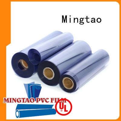 Mingtao waterproof clear vinyl film free sample for packing