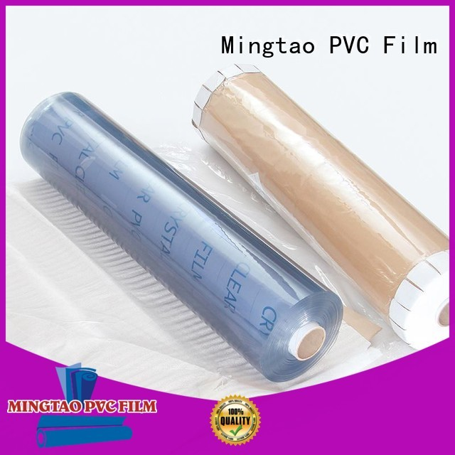 Mingtao quality embossed pvc film ODM for table cover