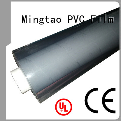 Mingtao durable clear pvc roll ODM for table cover