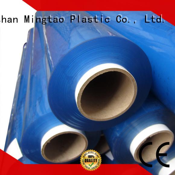 Mingtao soft clear pvc film plastic sheet rolls clear* pvc transparent sheet bulk production for table cover
