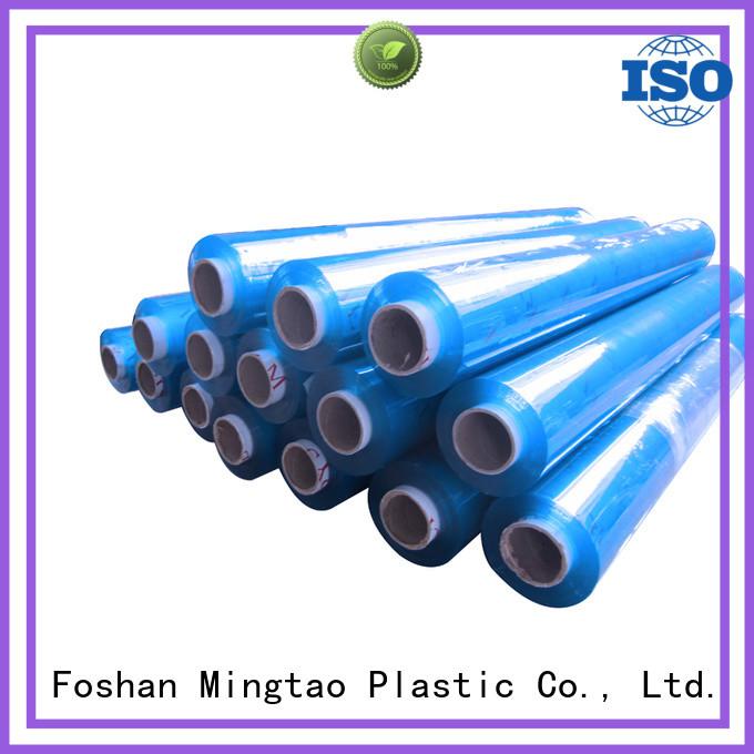 Mingtao Breathable pvc plastic film buy now for table mat