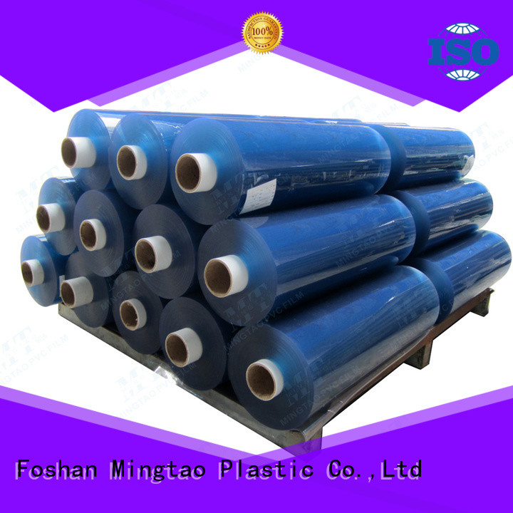 Mingtao white super clear pvc film OEM for packing
