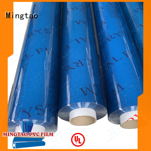 Mingtao film flexible pvc sheet OEM for book covers