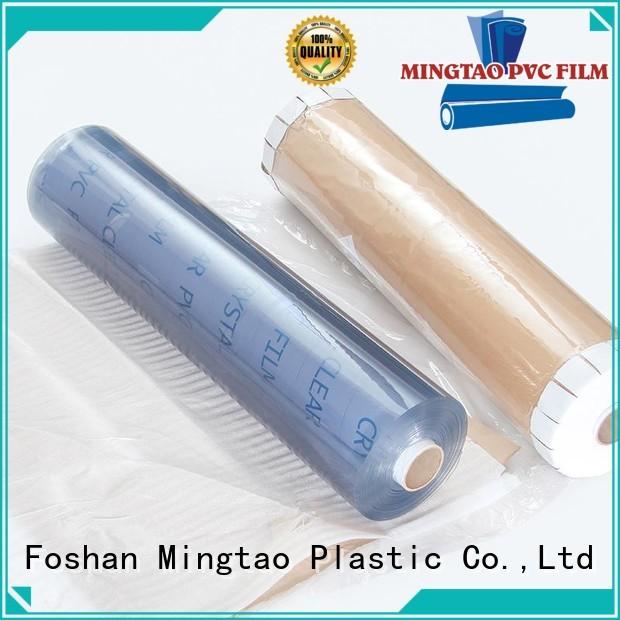 Mingtao pvc pvc film supplier for table mat