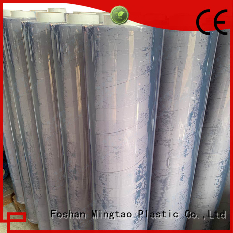 Breathable poly greenhouse pvc ODM for table mat
